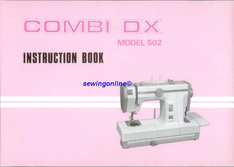 new home combi dx 502 sewing machine