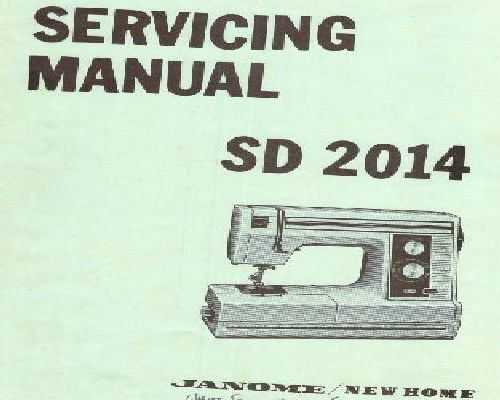 my excel 23l sewing machine manual