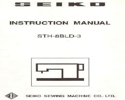 seiko stw 8b instruction manual