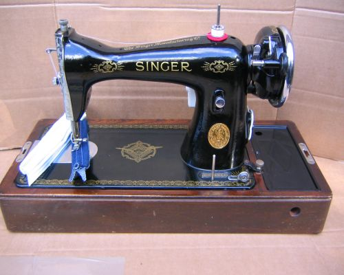 April 1930's - A Sewing ShoppeHow To Thread a Singer