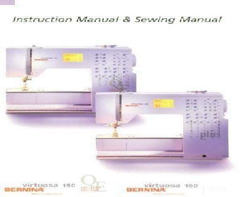 bernina virtuosa 150 qe 160 sewing machine instuction manual rh sewingonline co uk bernina virtuosa 150 mode d'emploi bernina virtuosa 150 manual pdf