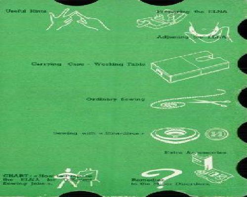 Elna Sewing Machine Instruction Manuals