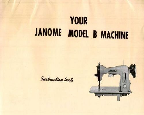 janome 6019 instruction manual