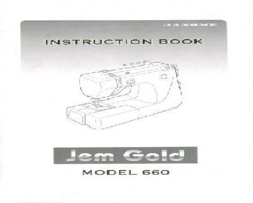 janome sewing machine manuals online