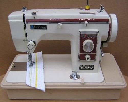 how to put the strings in a sewing machine