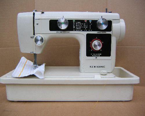 New Home Sewing Machine  Manual