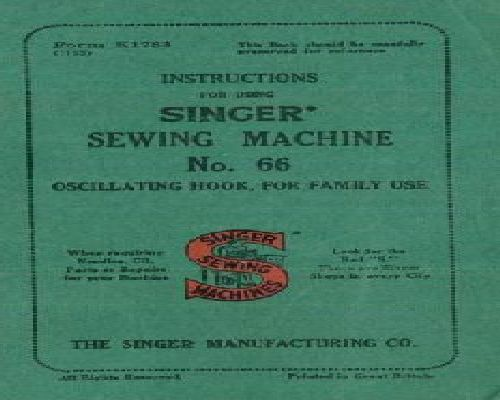 Singer Sewing Machine Instruction Manuals New Singer Sewing Machine Manuals Free Online