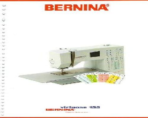 Bernina sewing machine instruction manuals bernina virtuosa 155 sewing machine instruction manual immediate download pdf fandeluxe Gallery