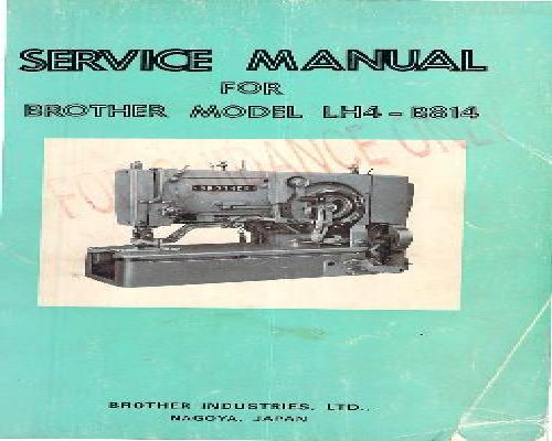 brother ps 53 sewing machine instructions