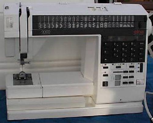 Immediate Credit Card >> Elna 8000 & 9000 Sewing Machine Instruction Manual