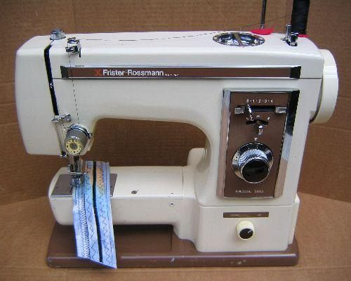 How to thread a frister star 112 sewing machine