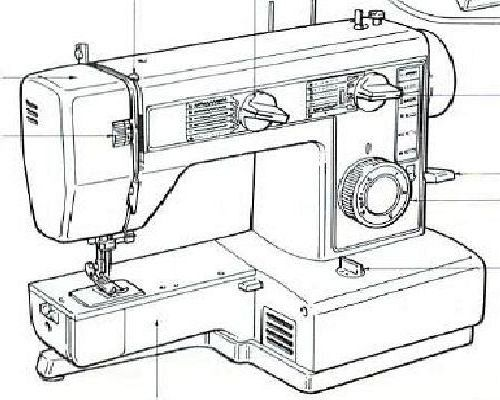 jones brother vx 540 sewing machine instruction manual