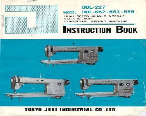 Juki Industrial Sewing Machine Instruction Manuals Inspiration Juki Industrial Sewing Machine Instruction Manual