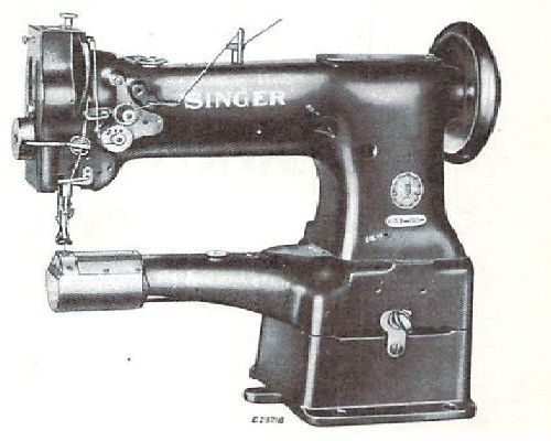 Singer 153w103 Industrial Sewing Machine Parts Book