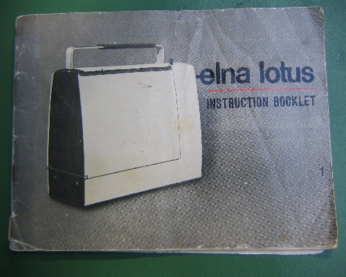 instructions manual elna lotus sewing machine rh sewingonline co uk Elna Lotus Sewing Machine Manual elna lotus sp sewing machine manual