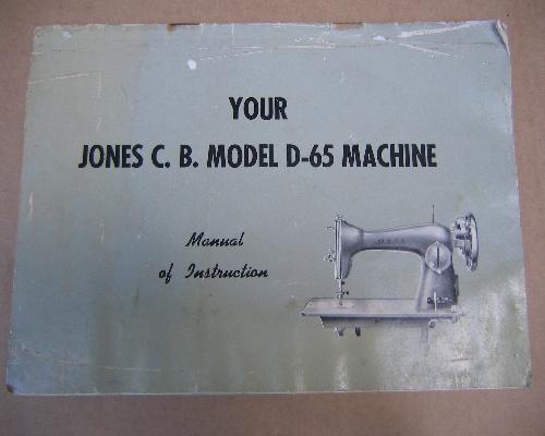 My Jones Cb Sewing Machine Gorgeous Jones Cb Sewing Machine