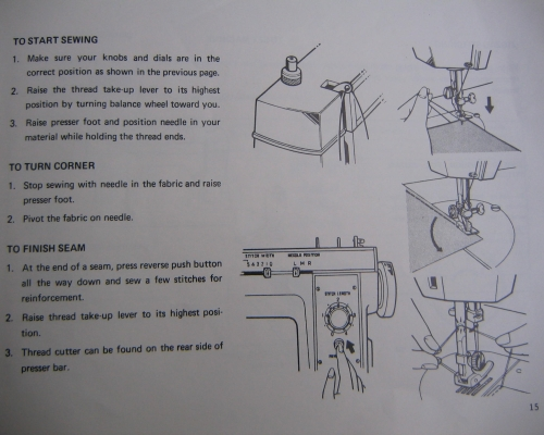 Newhome Sewing Machine Instuction Manual Awesome How To Thread A New Home Sewing Machine