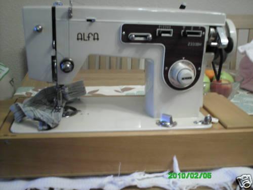 Alfa 612 sewing machine manual.