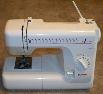 janome 1 step 15 stitch lightweight sewing machine rh sewingonline co uk Changing Janome DC 1 050 Feet Janome Embroidery Design Library