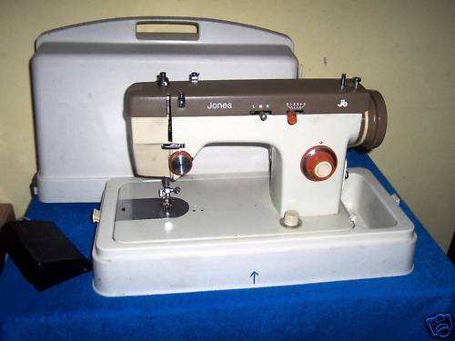 Jones 40 Sewing Machine Adorable Jones Sewing Machine