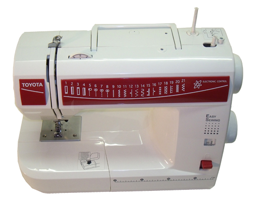 TOYOTA ES40 Sewing Machine Interesting Toyota Easy Sewing Machine Manual