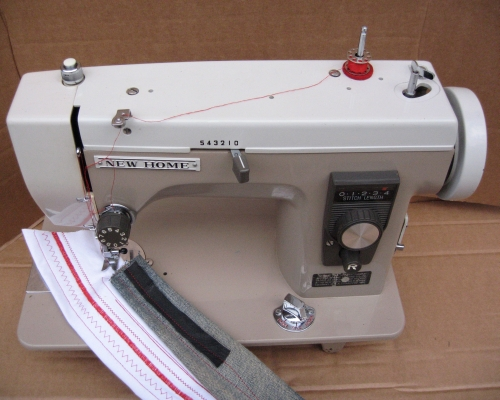 Newhome Janome Model 40 Sewing Machine Stunning Vogue Stitch Sewing Machine Manual